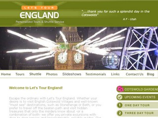 Let's tour England